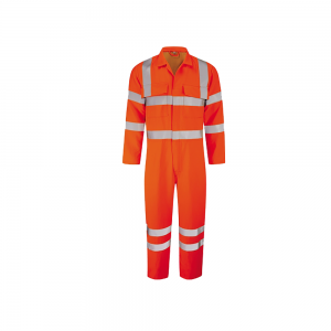 Hi Vis Orange Thermguard Rail Coverall