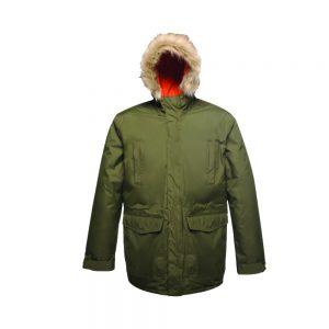 Regatta Classic Parka Jacket (TRA300) Dark Khaki