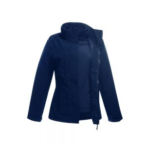 Regatta Women's Kingsley Stretch 3 in 1 Jacket TRA144 Navy