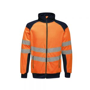 Hi-Vis Pro Insulated Waterproof Windproof Reflective Work Jacket