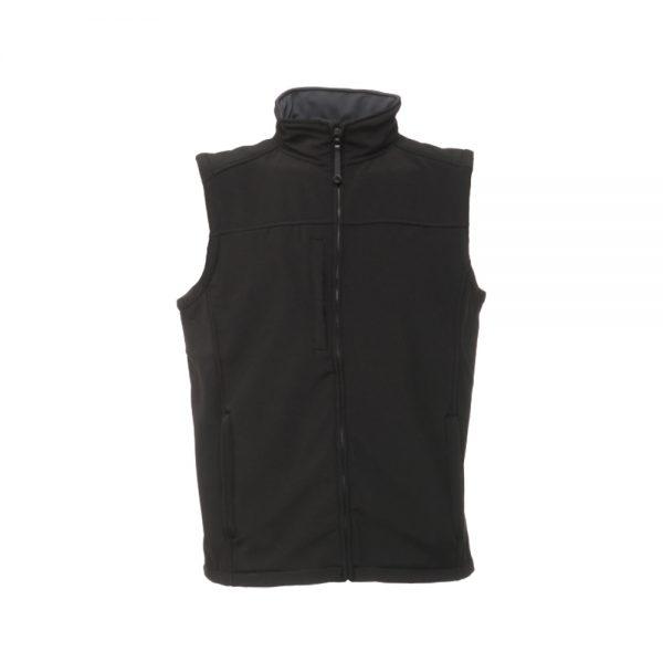 Regatta Men's Flux Softshell Bodywarmer (TRA788) Black