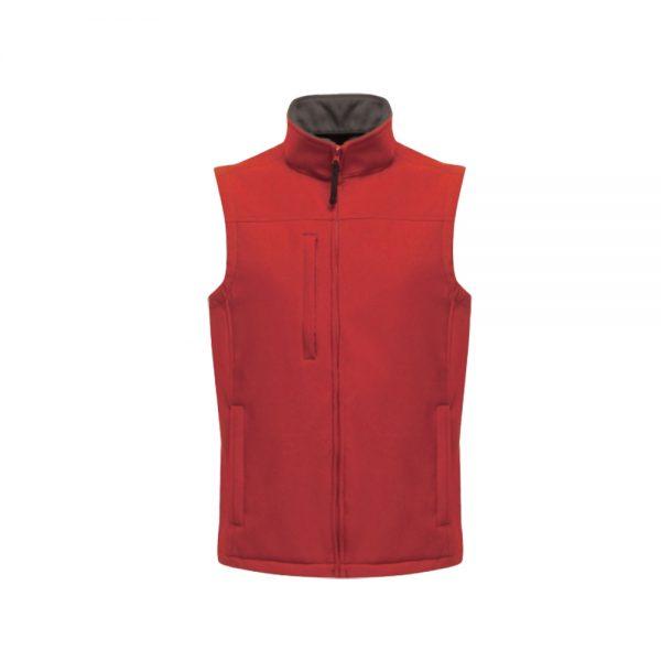Regatta Men's Flux Softshell Bodywarmer (TRA788) Classic Red