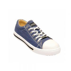 Regatta Playoff SBP Safety Sneaker (TRK107) Black-Blue