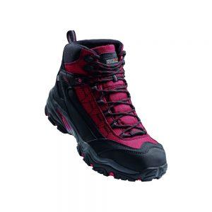 Regatta Causeway S3 Waterproof Safety Hiker Red-Black