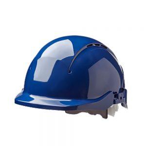 CENTURION CONCEPT CORE REDUCED PEAK SAFETY HELMET - BLUE