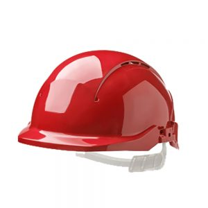 CENTURION CONCEPT REDUCED PEAK VENTED SAFETY HELMET - RED
