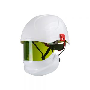 ProGARM Safety Helmet - 24 With Integrated Face Shield